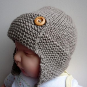 Images of Baby Aviator Hat Regan Knitting Pattern