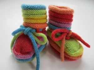 Baby Booties Knitting Pattern Pictures