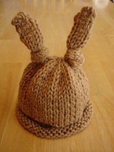 Baby Bunny Hat Knitting Pattern Pictures