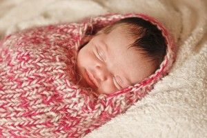 Baby Cocoon Knitted Pattern Image
