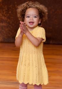Baby Knit Sweater Dress Pattern Photo