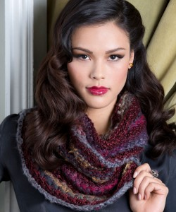 Photo of Bamboo Stitch Cowl Knitting Pattern