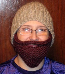 Bearded Beanie Knitted Beard Hat Pattern Pictures