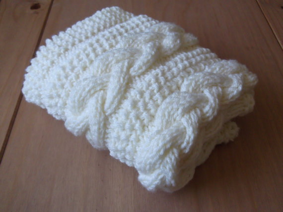 Cable Knit Baby Blanket Patterns A Knitting Blog