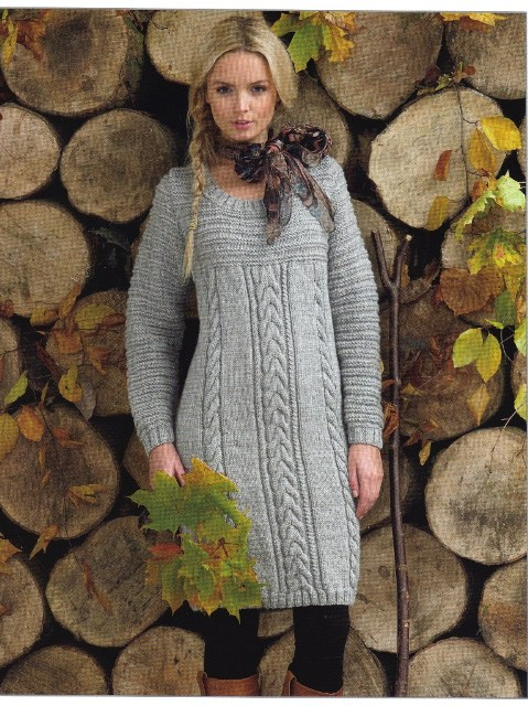 Knit Sweater Dress Patterns