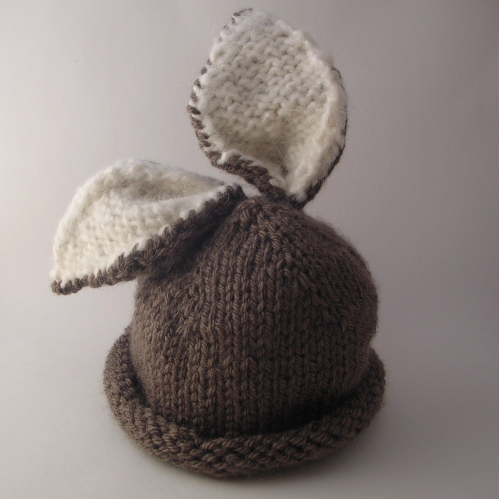 knit baby hat pattern with circular needles