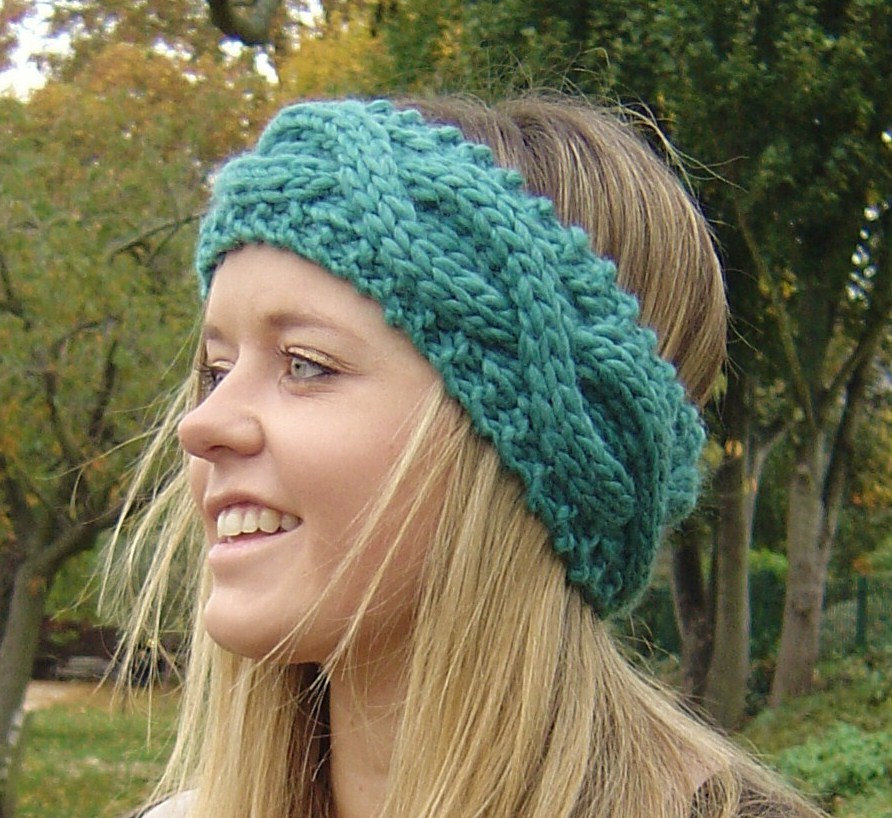 Cable Knit Headband Patterns A Knitting Blog