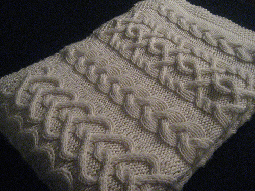 Cable Knit Baby Blanket Patterns A Knitting Blog Enchanting Cable Knit Pattern