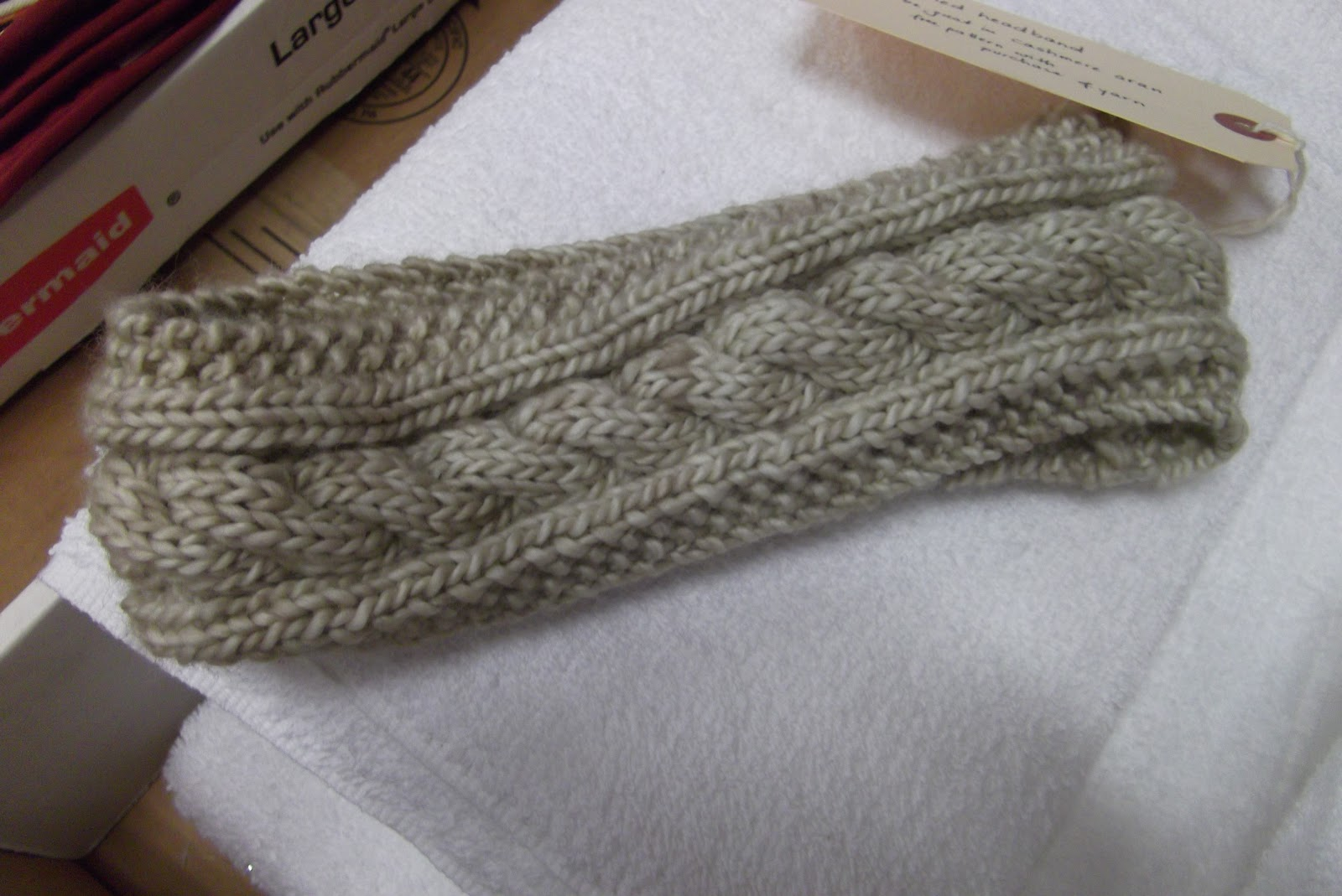 Cable Knit Headband Patterns | A Knitting Blog