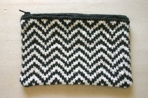 Pictures of Chevron knit Bag Pattern