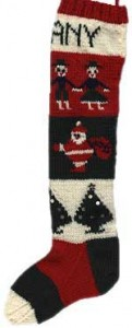 Christmas Knitted Stocking Pattern Pictures
