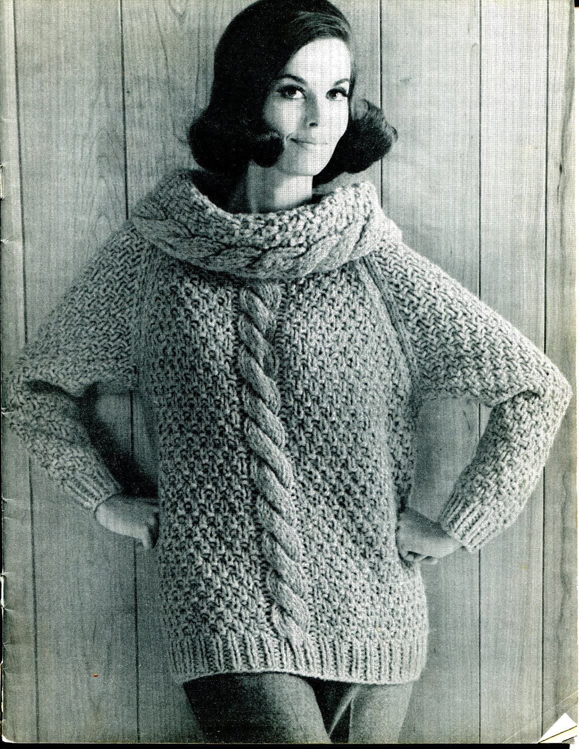 Cable Knit Sweater Patterns | A Knitting Blog