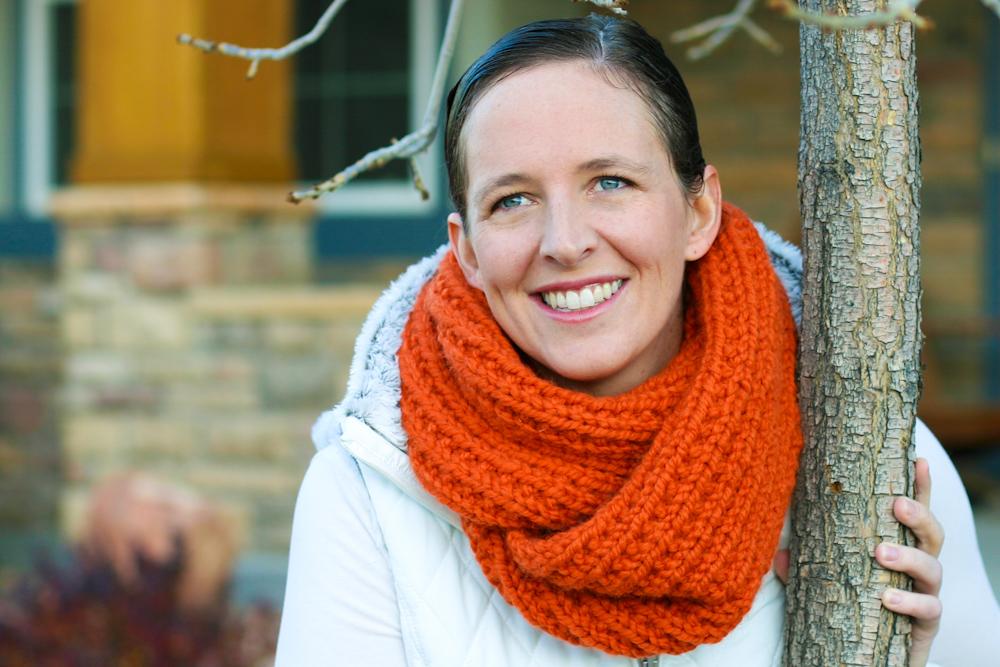 Knit Cowl Pattern A Knitting Blog