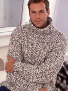 Photos of Chunky Rib Sweater Knitting Pattern