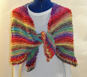 Circle of Love Prayer Shawl Knitting Pattern Image