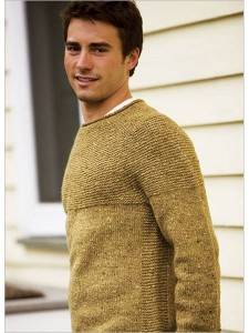 Cobblestone Pullover Knitting Pattern For Men's Photos