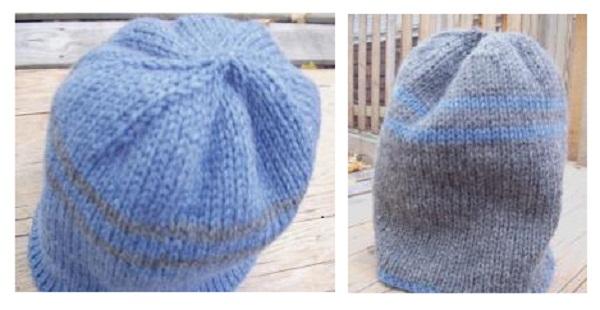 Double Knit Hat Pattern A Knitting Blog