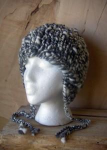 Earflap Hat Knitting Pattern Instruction Photo