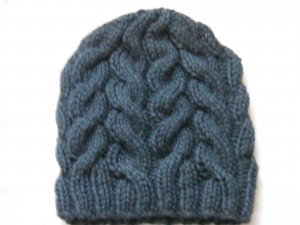 Easy Cable Knit Hat Pattern Photo