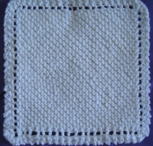 Easy Dishcloth Knitting Pattern Photos