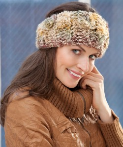 Easy Ear Warmer Knitting Pattern Photos