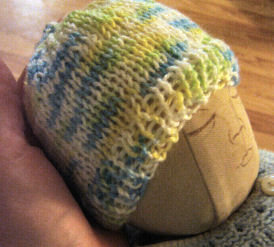 Easy Preemie Knitting Hat Pattern Picture
