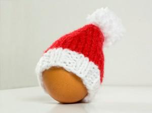 Easy Santa Baby Hat Knitting Pattern Images