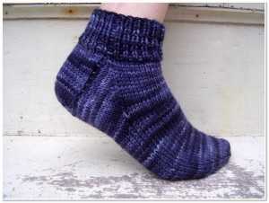 Pictures of Easy Sock Knitting Pattern