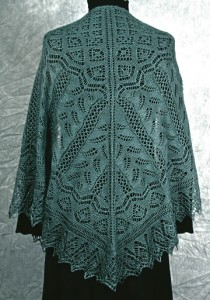 Image of Fern Glade Lace Knitting Pattern