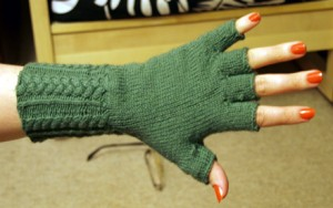 Images of Fingerless Gloves Knit Pattern Tutorial
