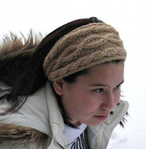 Free Cable Headband Knitting Pattern Picture