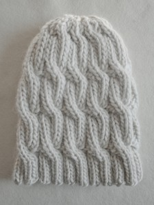 Free Chunky Cable Knit Hat Pattern Pictures