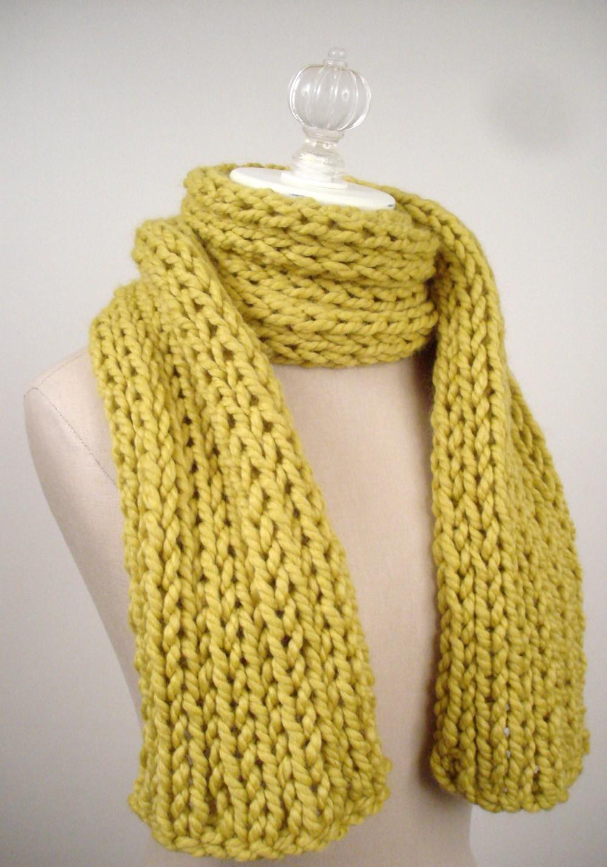 Scarf Knitting Patterns - A Knitting Blog