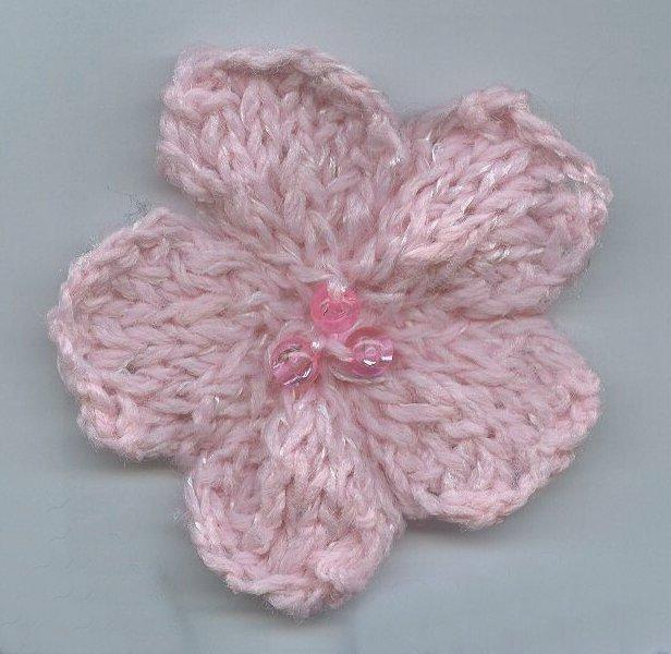 Knit Flower Pattern A Knitting Blog