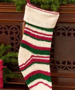 Free Knitted Christmas Stocking Pattern Picture