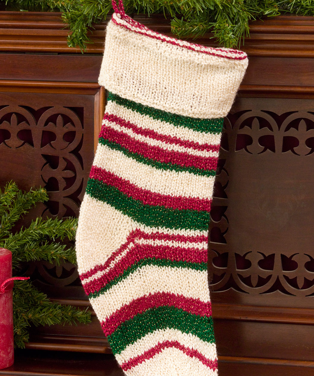 Knitted Christmas Stocking Patterns | A Knitting Blog