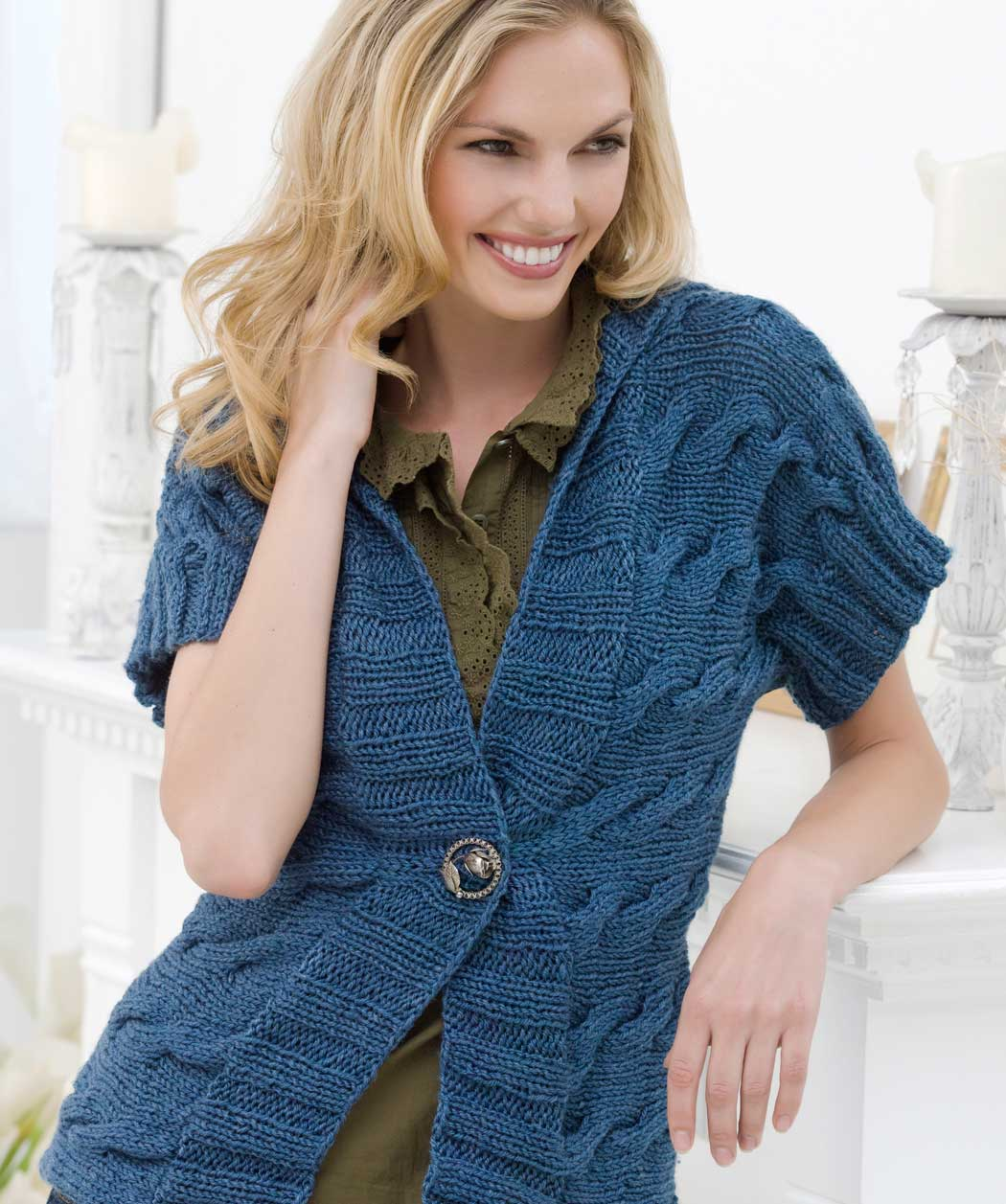 Knitting Cardigan Design : Knitted sweater patterns for women a knitting