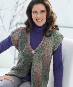 Free Knitted Vest Patterns for Women Photo