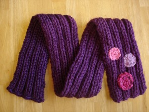 Images of Free Knitting Pattern Her Royal Highness Scarf