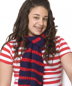 Free Striped Scarf Knitting Pattern Photos