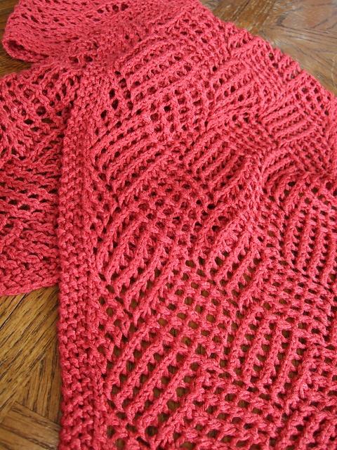 Reversible Knit Scarf Pattern A Knitting Blog