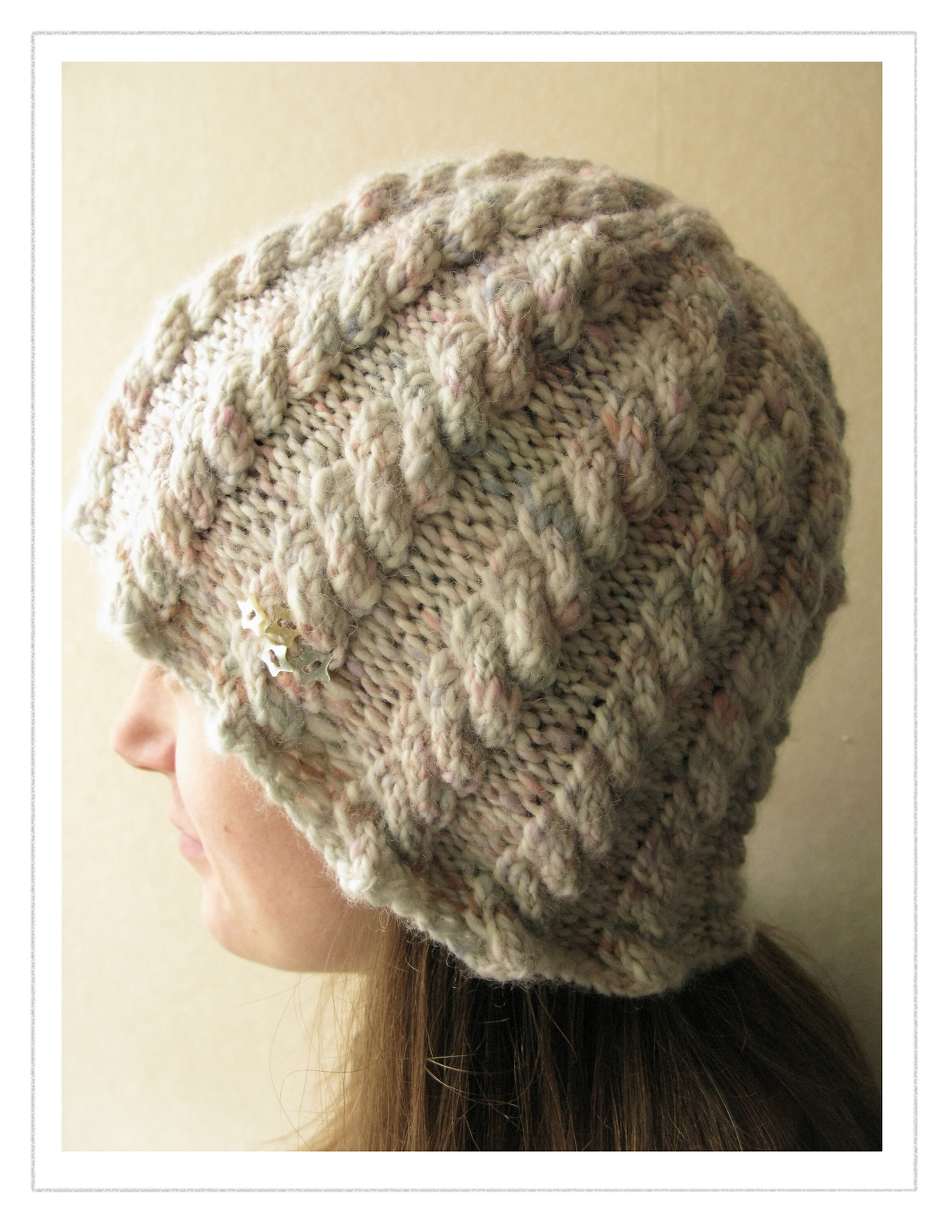 Cable Knit Hat Pattern | A Knitting Blog