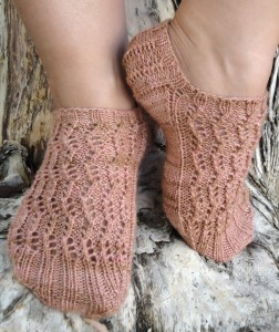 Harpa Socks Knitting Pattern Picture