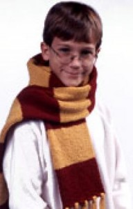 Harry Potter Knitting Scarf Pattern Instruction Photos