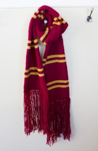 Harry Potter Scarf Knitting Pattern Tutorial Images