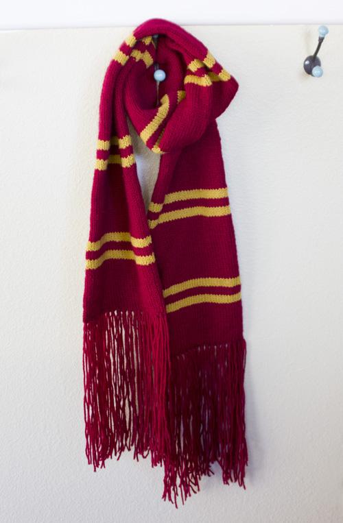 Harry Potter Scarf Knitting Pattern A Knitting Blog