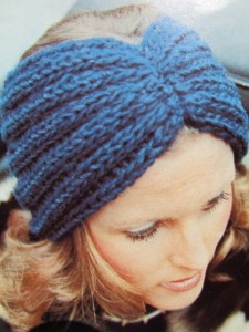 Headband Ear Warmer Knitting Pattern Instruction Picture