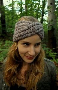 Headband Turban Knitting Pattern Picture