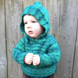 Hooded Baby Sweater Knitting Pattern Pictures