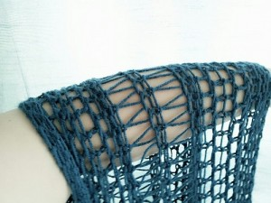 Picture of Infinity Scarf Loom Knitting Pattern